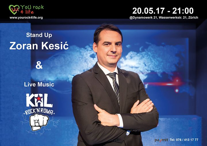 Stand up Zoran Kesić & Live Music KAL Rock'N'Roma